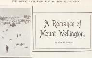 A Romance of Mount Wellington - Short story