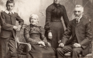 Constable Gadd and family