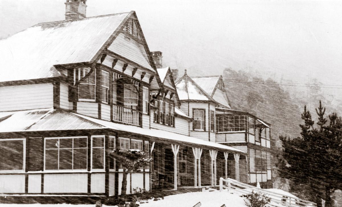 Springs Hotel circa 1950